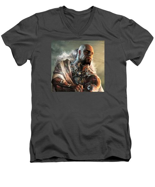 Duels Of The Planeswalkers 2014 Persona Four Men's V-Neck T-Shirt