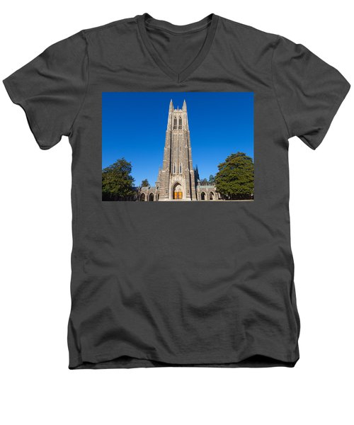 Duke Chapel Men's V-Neck T-Shirt