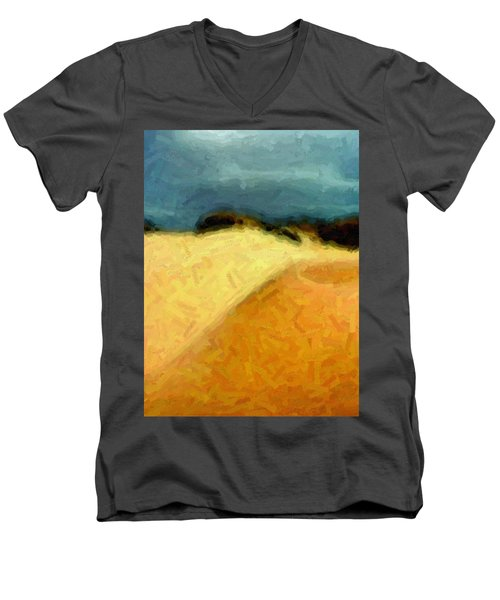 Dunes 1 Men's V-Neck T-Shirt