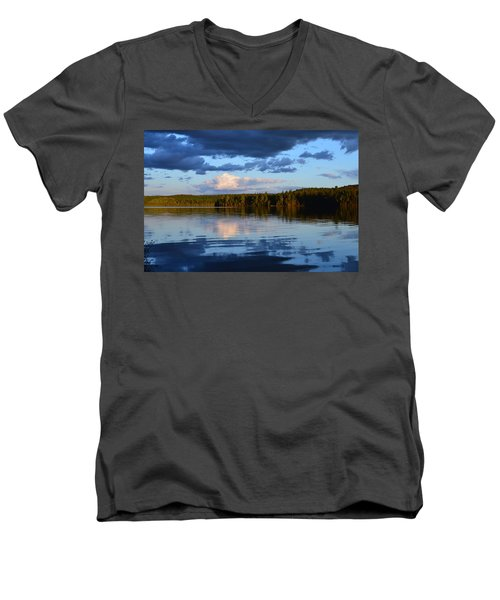 Dusk After A Storm Men's V-Neck T-Shirt