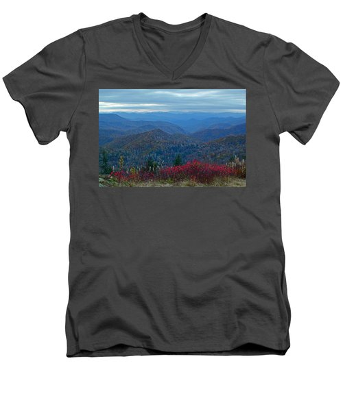 Dusk In Pastels Men's V-Neck T-Shirt