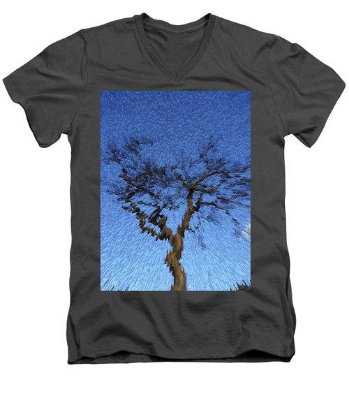 Dynamic Dawn Men's V-Neck T-Shirt