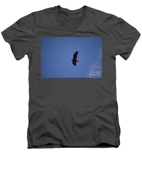Eagle 1 Men's V-Neck T-Shirt