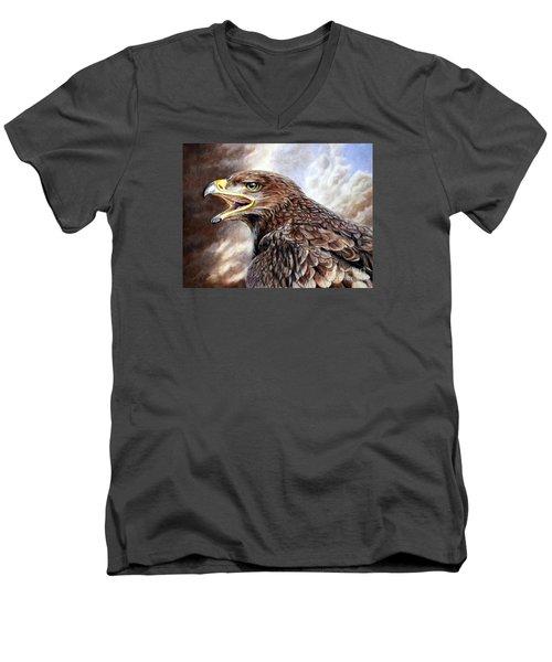 Eagle Cry Men's V-Neck T-Shirt