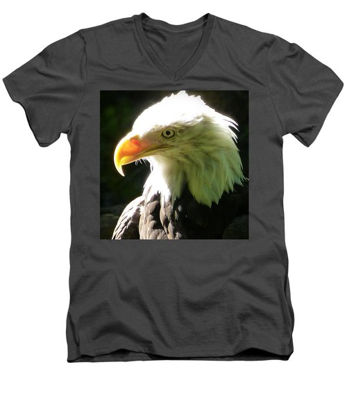 Eagle Men's V-Neck T-Shirt