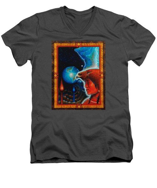 Eagle's Roost Men's V-Neck T-Shirt