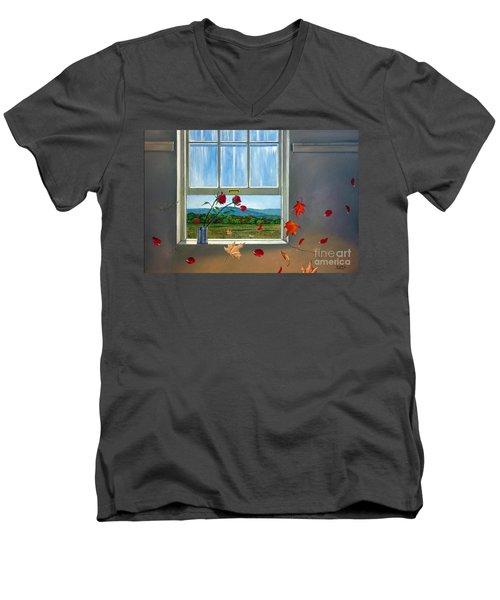 Early Autumn Breeze Men's V-Neck T-Shirt