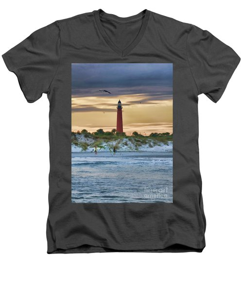 Early Evening Sky Men's V-Neck T-Shirt