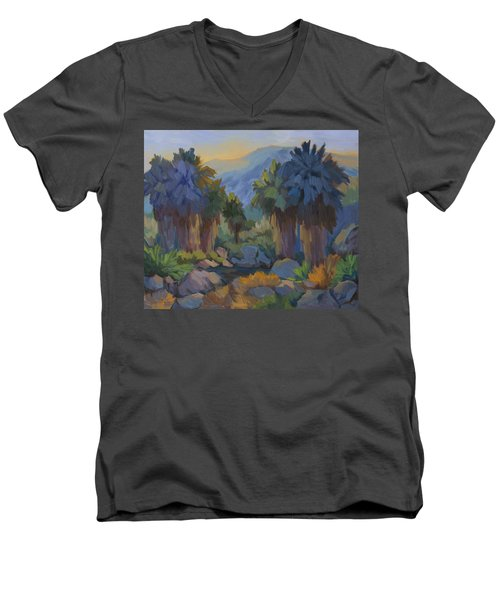 Early Light Indian Canyon Men's V-Neck T-Shirt