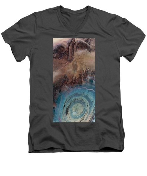 Earthship 1 Men's V-Neck T-Shirt