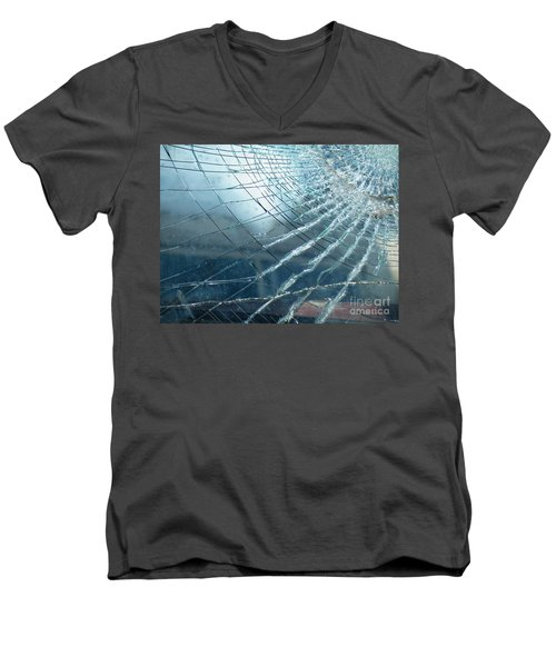 Men's V-Neck T-Shirt featuring the photograph East Of Java by Brian Boyle