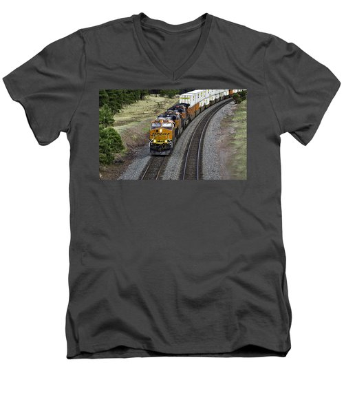 Eastbound Freight Men's V-Neck T-Shirt