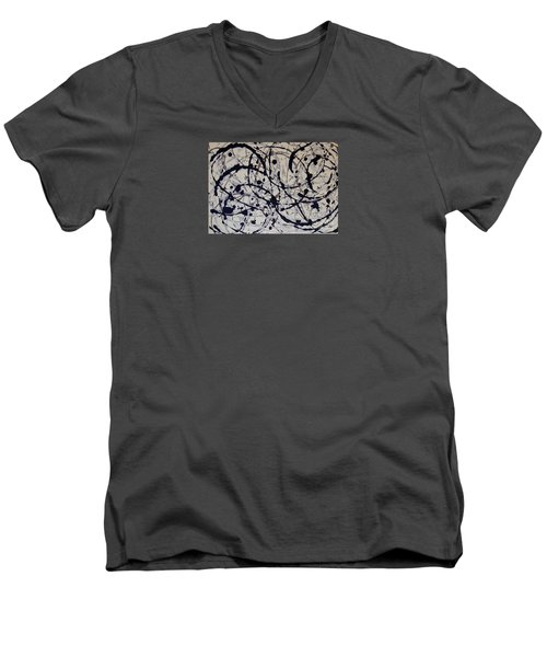 Ebb And Flow Men's V-Neck T-Shirt by Susan Williams