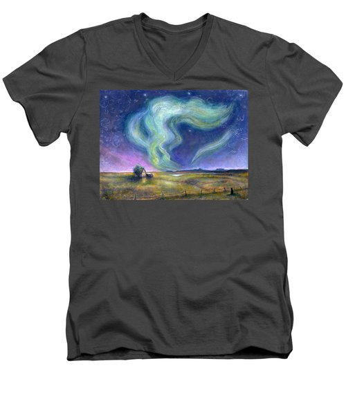 Echoes In The Sky Men's V-Neck T-Shirt