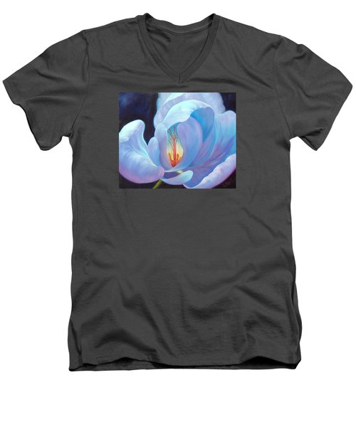 Ecstasy Men's V-Neck T-Shirt by Sandi Whetzel