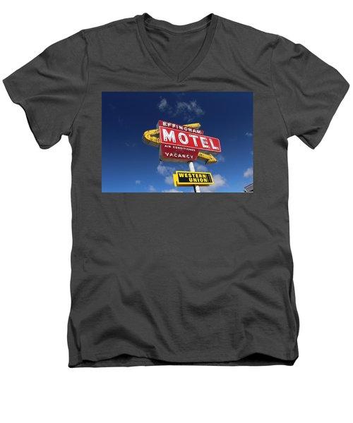Effingham Motel Men's V-Neck T-Shirt
