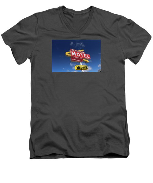 Effingham Motel Men's V-Neck T-Shirt