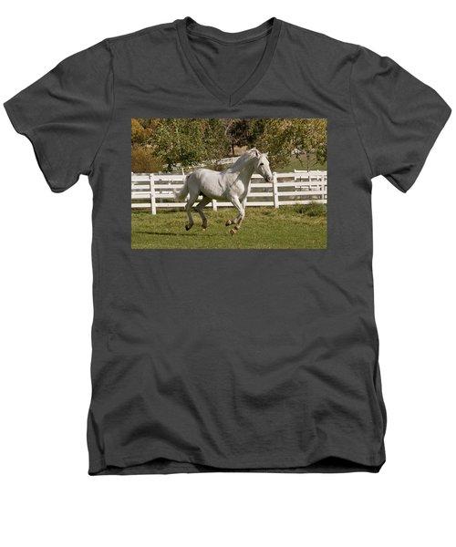 Effortless Gait Men's V-Neck T-Shirt
