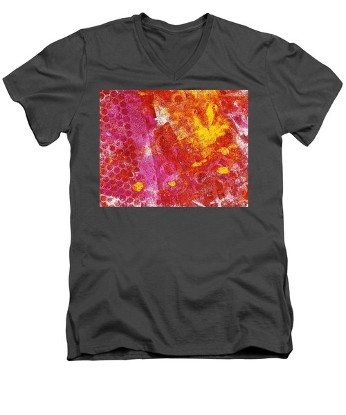 Effusion Men's V-Neck T-Shirt