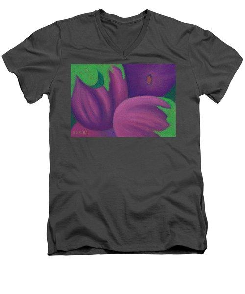 Eggplants Men's V-Neck T-Shirt
