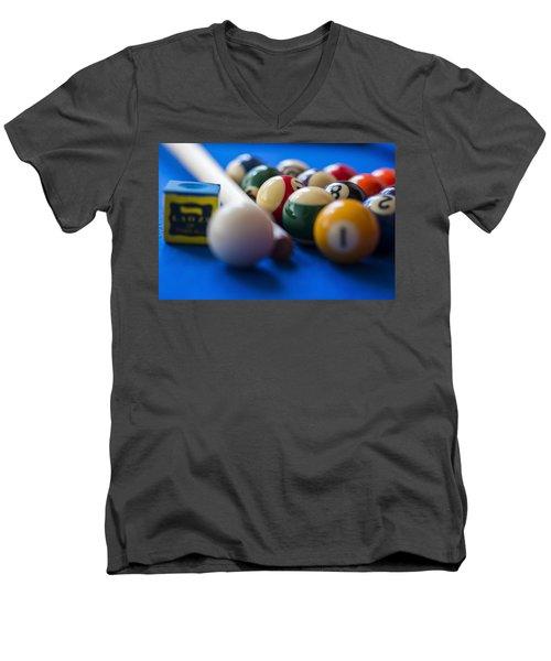 Eight Ball Men's V-Neck T-Shirt