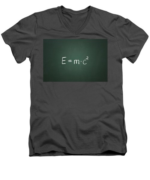 Einsteins Formula Men's V-Neck T-Shirt