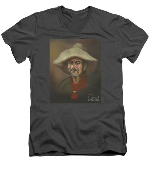 El Mestizo Men's V-Neck T-Shirt