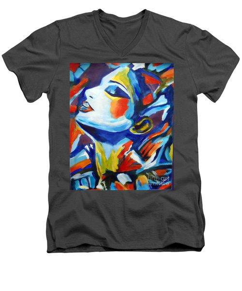 Elation Men's V-Neck T-Shirt