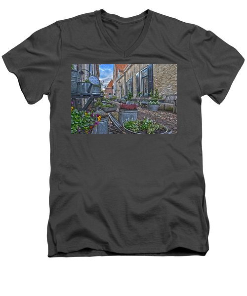Elburg Alley Men's V-Neck T-Shirt