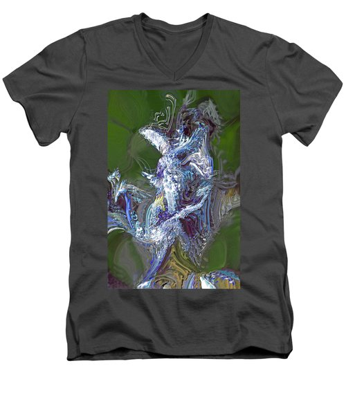 Men's V-Neck T-Shirt featuring the photograph Elemental by Richard Thomas