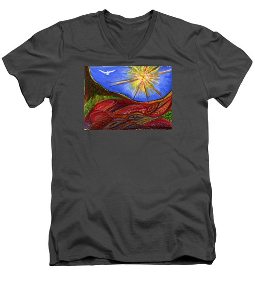 Elements Of Earth Men's V-Neck T-Shirt