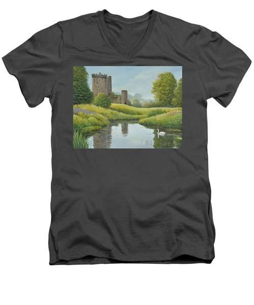 Emerald Isle Men's V-Neck T-Shirt