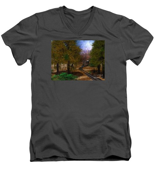 Emergence Men's V-Neck T-Shirt