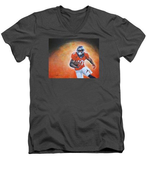 Emmanuel Sanders Men's V-Neck T-Shirt