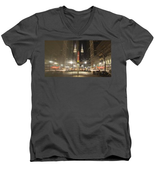Empire Reflections Men's V-Neck T-Shirt