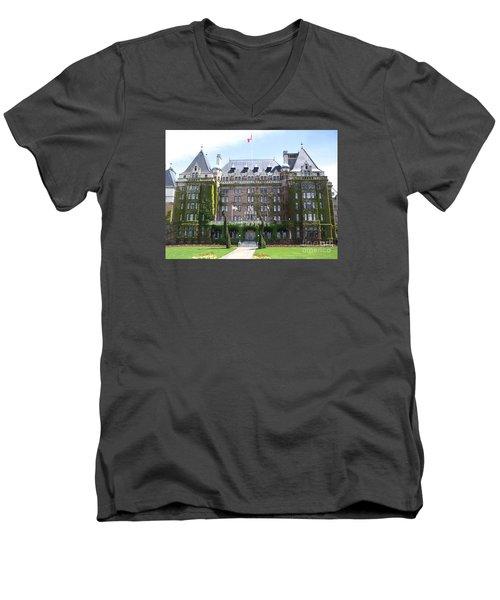 Empressed By Royalty Men's V-Neck T-Shirt