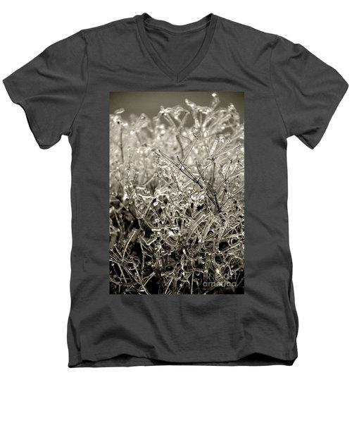 Encased In Ice IIi Men's V-Neck T-Shirt