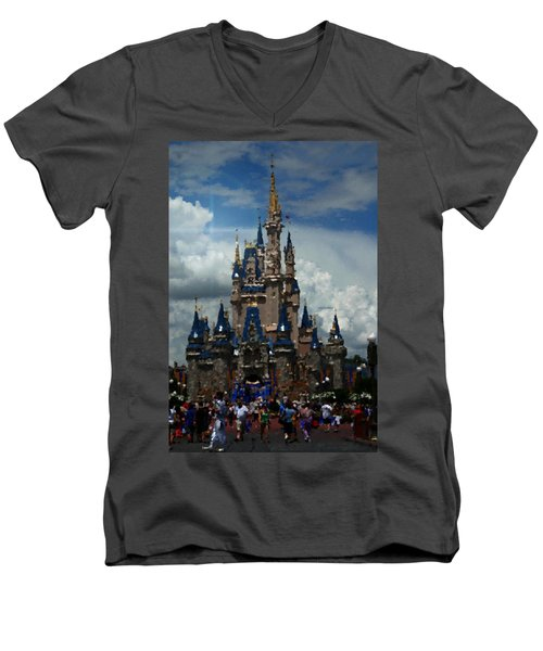 Enchanted Castle Men's V-Neck T-Shirt