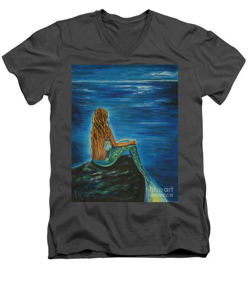 Enchanted Mermaid Beauty Men's V-Neck T-Shirt