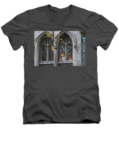 End Of The Mile Men's V-Neck T-Shirt