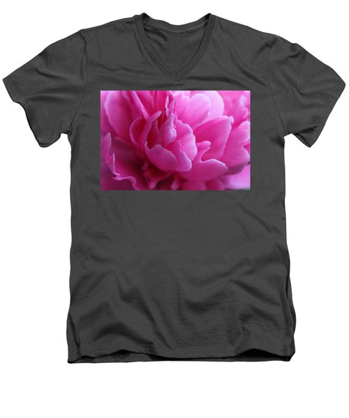 End Of The World Pink Men's V-Neck T-Shirt