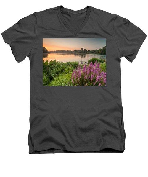 Energize Men's V-Neck T-Shirt