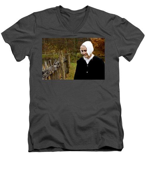 England On The Virginia Frontier Men's V-Neck T-Shirt