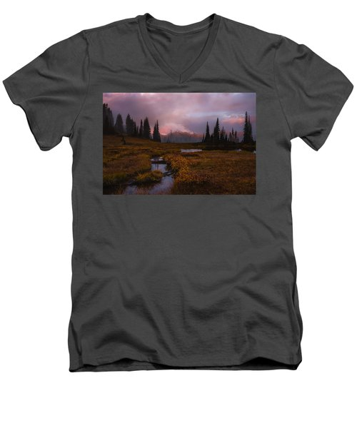 Engulfed II Men's V-Neck T-Shirt