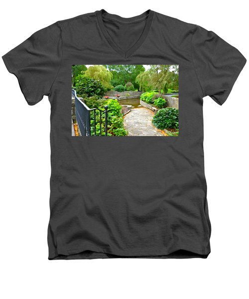 Enter The Garden Men's V-Neck T-Shirt