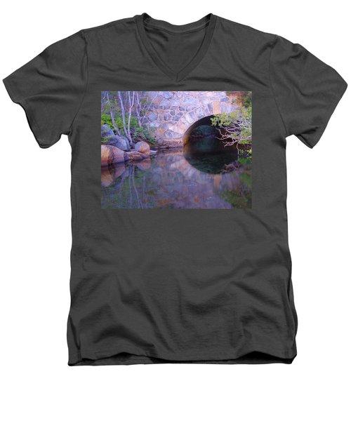 Enter The Tunnel Of Love  Men's V-Neck T-Shirt