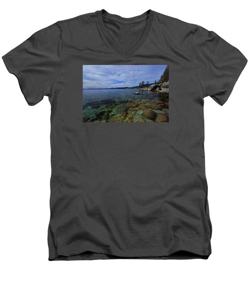 Men's V-Neck T-Shirt featuring the photograph Enter Willingly  by Sean Sarsfield