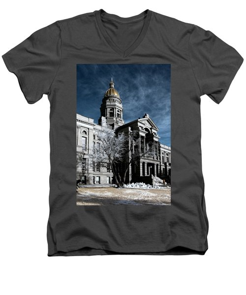 Equality State Dome Men's V-Neck T-Shirt