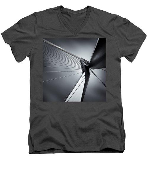 Erasmusbrug Men's V-Neck T-Shirt