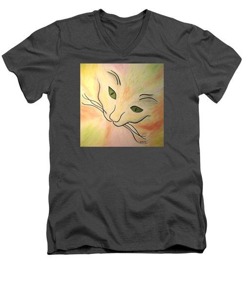 Essence Of Cat Men's V-Neck T-Shirt